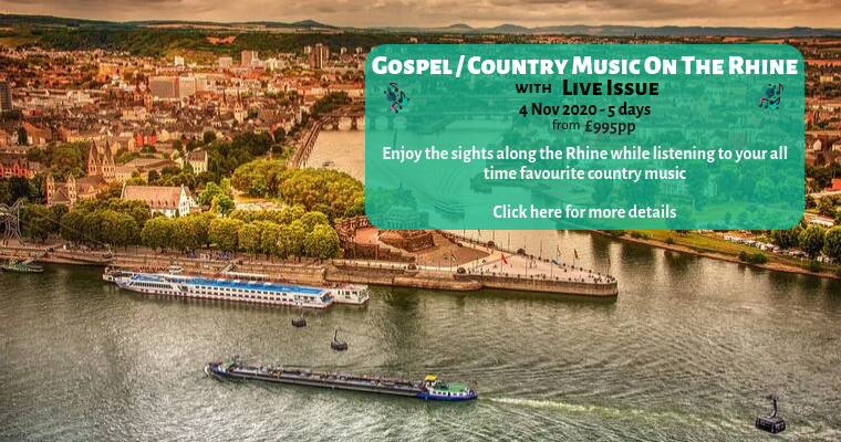 Gospel Country Music On The Rhine Banner