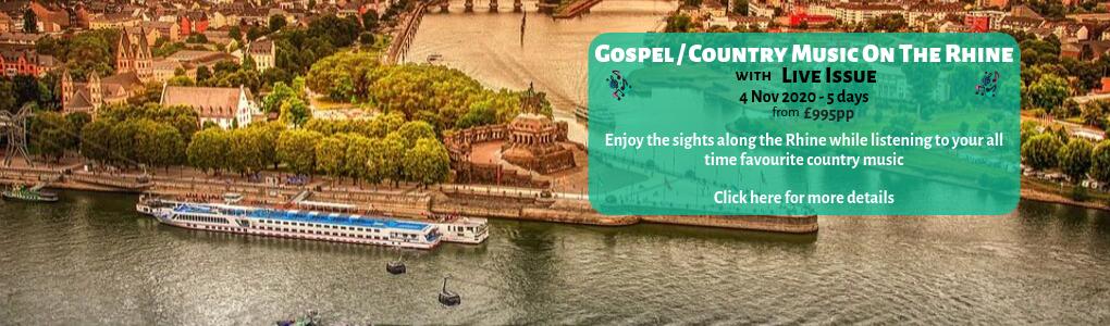 Gospel Country Music On The Rhine Banner