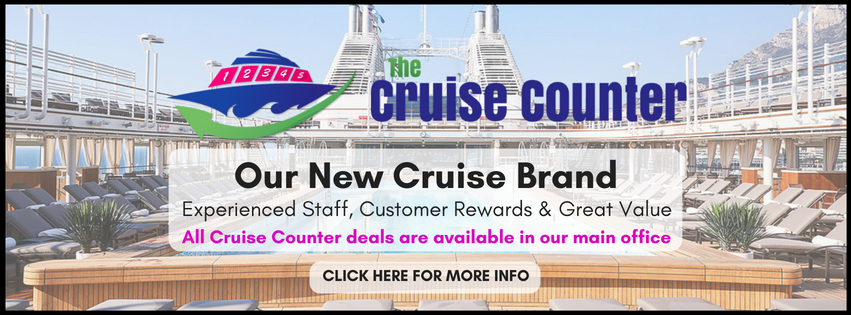 Cruise Counter Banner